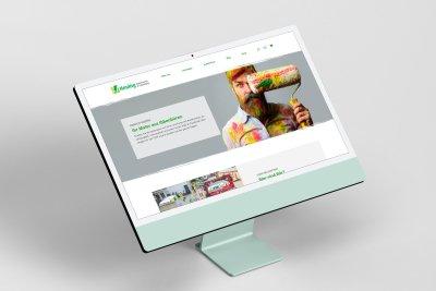 Neue Webseite für das Farbenhaus und Malerbetrieb Heuing