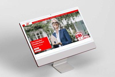 Neue Webseite für LBS Immobilien